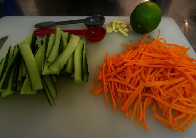 Carrots & Cuke