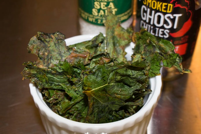Nut Free Kale Chips